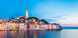 Coastal town of Rovinj, Istria, Croatia. Stock Image