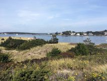 Scene from Watch Hill in Westerly, Rhode Island Stock Images