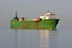 Coastal Trader MV SEAROAD MERSEY Royalty Free Stock Images