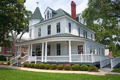 Coastal victorian home 1. Coastal Florida victorian style home Royalty Free Stock Photo