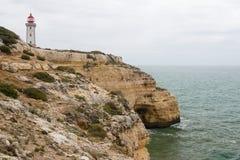 Coastal view at Algarve, Portugal Stock Image