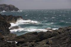 Coastal view around Anglesey Stock Photo
