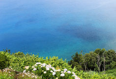 Coastal view in Azores, Portugal Royalty Free Stock Images