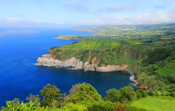 Coastal view in Azores, Portugal Royalty Free Stock Photography