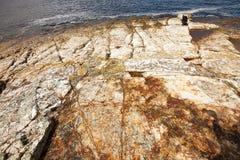 Coastal view Hobart Tasmania royalty free stock photography