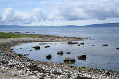 Coastal view Isle of Arran Royalty Free Stock Photos