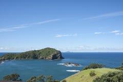 Coastal view. Coastal view from Tutukaka, New Zealand. Northland royalty free stock image