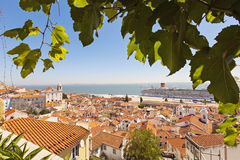 Coastal views, Lisbon, Portugal Stock Image