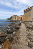 Coastal views of St Tropez Royalty Free Stock Photos