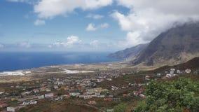 Coastal views towards Las Puntas from Frontera, El Hierro, Canary Islands, Spain royalty free stock photos
