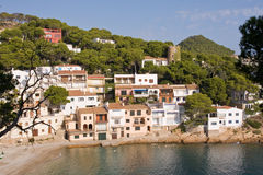 Coastal village Stock Photo