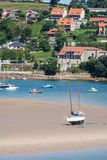 Coastal village in Cantabria Royalty Free Stock Photography