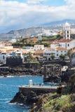 Coastal village Garachico in Tenerife royalty free stock photography