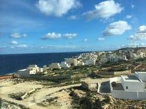 Coastal Village in Malta royalty free stock photos