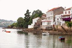 Coastal village in northern Spain Stock Photos