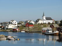 Coastal Village, Norway Stock Photography