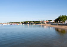 Coastal village Stock Image