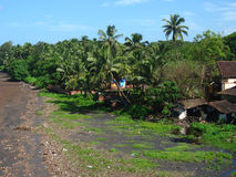 Coastal Village Ratnagiri-I Stock Photos