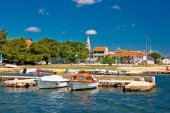 Coastal village of Sveti Filip I Jakov Stock Image