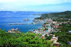 Coastal villages Royalty Free Stock Photos