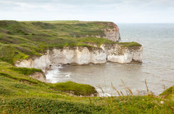 Coastal voew of Flamborough Head Yorkshire Stock Images