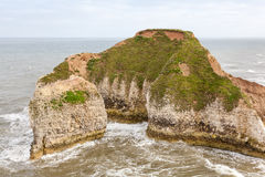 Coastal voew of Flamborough Head Yorkshire Royalty Free Stock Image