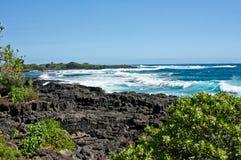Coastal Volcanic Rock Royalty Free Stock Photography