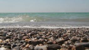 Coastal waves stock footage