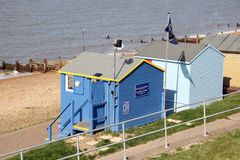 Coastal weather station Royalty Free Stock Images