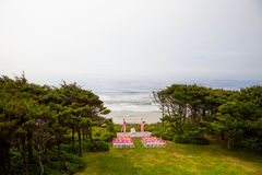 Coastal Wedding Venue Royalty Free Stock Photos