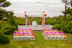 Coastal Wedding Venue Stock Photography