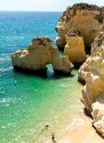 Coastal wonders of Portugal Stock Photo