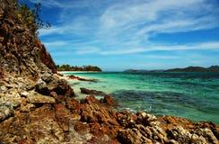 coastalscapesmalcapuya Fotografering för Bildbyråer