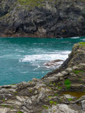Coasteering dans les Cornouailles Photo libre de droits