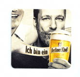 Coaster beer mat Royalty Free Stock Images