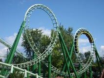 coaster prate roller vienna Royaltyfria Foton