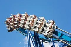 coaster prate roller vienna Royaltyfria Bilder