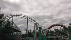 coaster prate roller vienna attractor 4K акции видеоматериалы