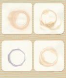 Coaster Rings  Royalty Free Stock Image