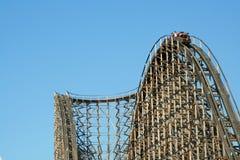 coaster roller wooden 免版税库存照片