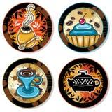 Coasters 3 da bebida Fotos de Stock