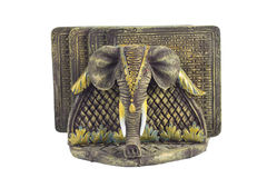 Coasters da bebida do elefante Foto de Stock Royalty Free