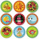 Coasters da bebida do verão Imagens de Stock