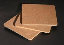 Coasters da cortiça Imagens de Stock