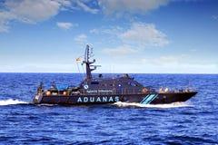 Coastguard av de spanska egenarna royaltyfri foto