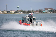 Coastguard boat Royalty Free Stock Image