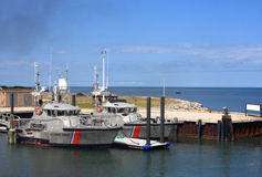 Coastguard boats Royalty Free Stock Image
