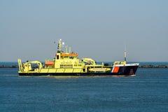 Coastguard Holland arkivbilder
