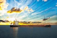 Coastguard in progress Stock Photo