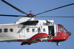 Coastguard Rescue 2 Royalty Free Stock Image